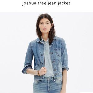 Madewell Joshua Tree Jean Jacket, Large